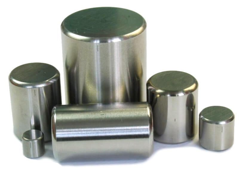Calibration Blocks for Bearing Rollers Testing