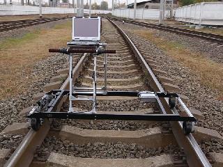 ETS2-77涡流单轨8通道探伤机,用于轨道检查